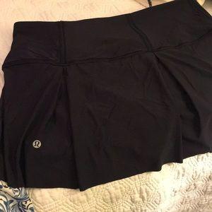 Lululemon navy tennis skirt